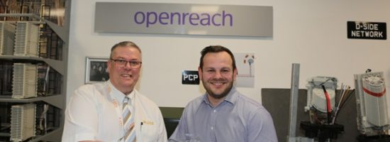 CTTS win external training provider of the year from Openreach